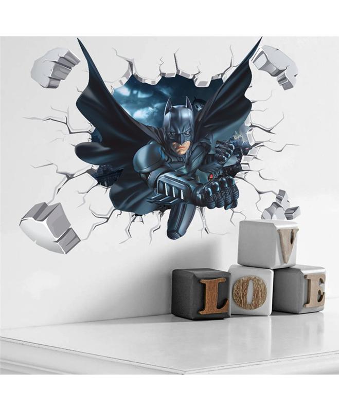 buy batman wall sticker online in pakistan - primeshopping.pk