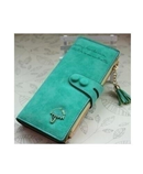 Assez Aac Green PU Leather Ladies Wallet