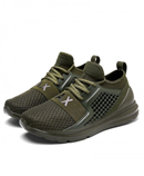 Bjakin Army Green Breathable Mesh Running Shoes