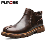 PUAMSS Classic Male Casual Non-slip Working Boots