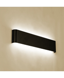 Black Modern Minimalist LED Aluminum Wall Lamp