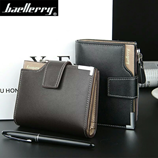 COHEART Black Leather Wallet