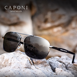 Caponi Brand Driving Polarized Rectangle Shades