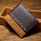 Choco Brown and Brown Leather Wallet