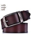 DINISITON genuine cow leather fashion strap belt