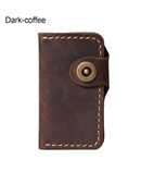 Dark Brown Handmade Leather Key Wallet