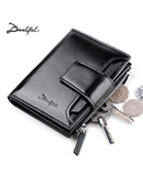 Deelfel Black Leather Wallet