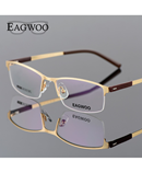 EAGWOO Half Rim Optical Frame AT-820