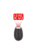 Electronic LCD Mini Projector Digital Alarm Clock