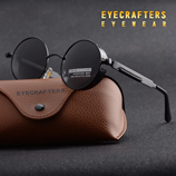 Eyecrafters Round Metal Polarized Glasses