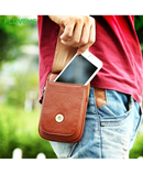 FLOVEME Universal 5.5 Leather Waist Bag AT-493