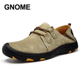 GNOME Moccasins Mens Fashion Anti-slip Casual Shoes