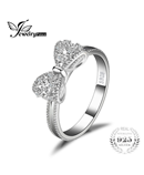 JewelryPalace 925 Sterling Silver Bow Ring