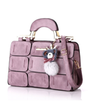 Kavard Purple Casual Tote Crossbady Bags