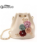 Ladsoul Light Pink Floral Ladies Handbag