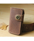 Light Brown Handmade Leather Key Holder Leather Key