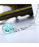 Luminous Crystal Ball Chic Necklace