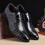 Luxury Brand PU Leather Business Mens Loafers Style Shoes