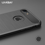 Luxury Shockproof Carbon Fiber Black iPhone Case