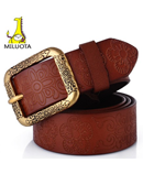 MILUOTA Classic Leather Carved Belt AT-590