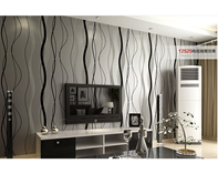 Modern Simple Style Surface Striped 3D Wallpaper