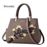 Nevenka Floral Ribbon Night Tote Womens Zipper Bags