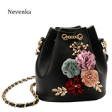 Nevenka Flower Bucket Women Messenger Shoulder Bag