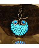 Owl Luminous Necklace AT-4892