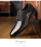 Oxford Classic Gentleman Black Formal Dress Shoes