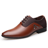 Oxford Classic Gentleman Brown Formal Dress Shoes