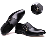Oxfords Mens Black Classic Business Shoes