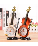 Pack of 2 Violin Table Clock