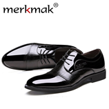 Patent Leather Luxury Brand Men Oxfords
