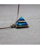 Pyramid Triangle Geometric Magic Luminous Pendant