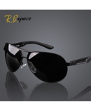 RB Space Black Polarized Sunglasses
