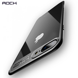 ROCK Slim Transparent Black Case for iPhone