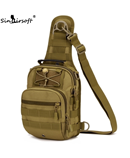 SINAIRSOFT Khaki Tactical Bag Molle Hiking Hunting Sports Bag