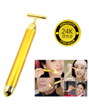 Slimming Face 24k Gold Vibration Facial Roller AT-572