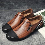 Times New Roman Leather Shoes