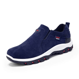 VESONAL Blue Out door Breathable Suede Male Footwear