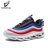 VESONAL Hip Hop Lightweight Thick sole Sneakers