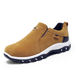 VESONAL Mustered Color Out door Breathable Suede Male Footwear