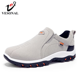 VESONAL Out door Breathable Suede Male Footwear