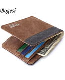 Yateer Gray and Brown Designer Wallet