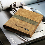 Yateer Soft Matte PU Leather Wallet